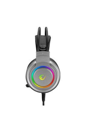 Rampage Airs Gri Cmedia Chipset Usb Rainbow Led Aydınlatmalı Gaming Mikrofonlu Kulaklık Rm-x5