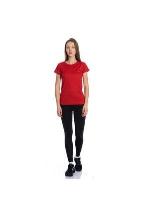 Slazenger Kadın Kırmızı Relax Tişört