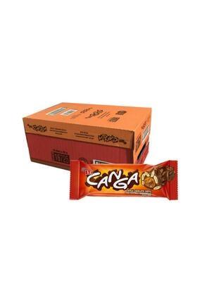 Eti Canga Yer Fıstıklı Karamelli Çikolata Bar / 16 Adet / 45 Gr