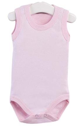 Pattaya Kids Kız Bebek Pembe Kolsuz Çıtçıtlı Body 0-36 Ay Ptk20s-403