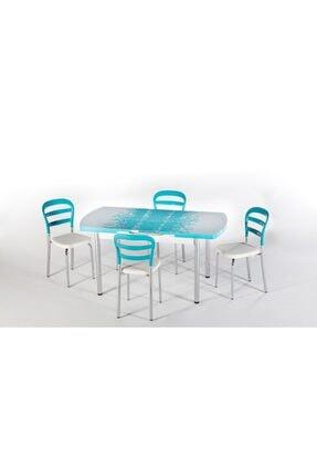 İSTİKBAL Prizma Masa-sandalye Seti Turkuaz