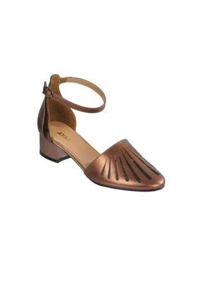 Maje 6033 Bakır Kadın Topuklu Ayakkabı