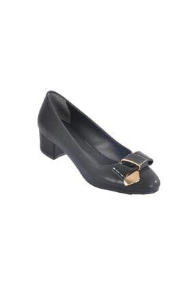 Maje 2632 Siyah Kadın Topuklu Ayakkabı