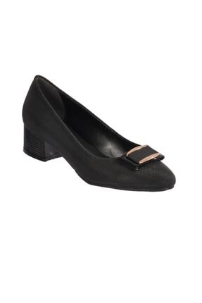 Maje 6032 Z.ayk Siyah Kadın Topuklu Ayakkabı