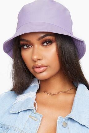 Y-London Kadın Lila Bucket Şapka 13372
