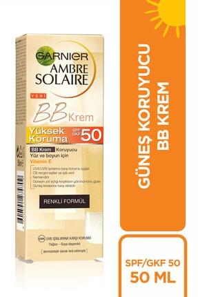 Garnier Ambre Solaire BB Güneş Koruyucu Yüz Kremi GKF50 50ML