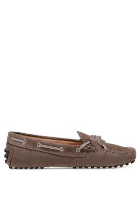 Nine West NEWHOLT2 1FX Gri Kadın Loafer Ayakkabı 101031125
