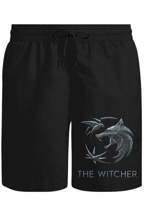 Lord T-Shirt The Witcher - Wolf Baskılı Şort