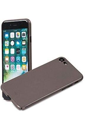ADDISON Ip-721 Metalik Iphone7 Nano Serisi Koruma Kılıfı, Gri