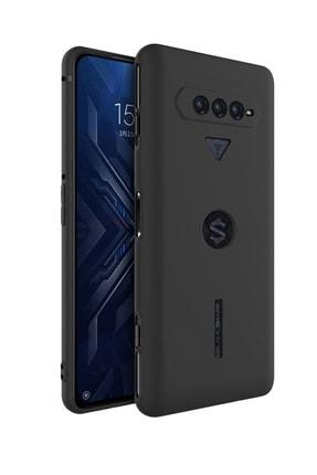 Microcase Xiaomi Black Shark 4 - 4 Pro Elektrocase Serisi Kamera Korumalı Silikon Kılıf - Siyah