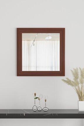 bluecape Üsküdar Ceviz Ayna 45x45 Cm