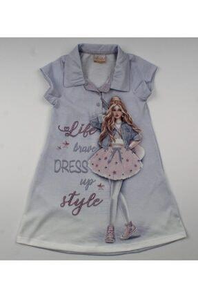 Moonstar Kız Çocuk Yazlık Elbise