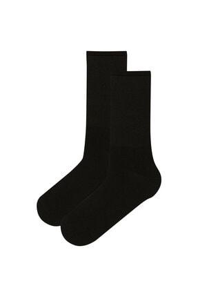 Penti Erkek Siyah Çorap 2'li