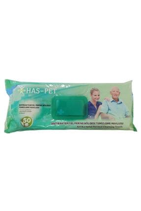 Has-Pet Antibakteriyel Perine Bölge Temizleme Havlusu (1 Adet)