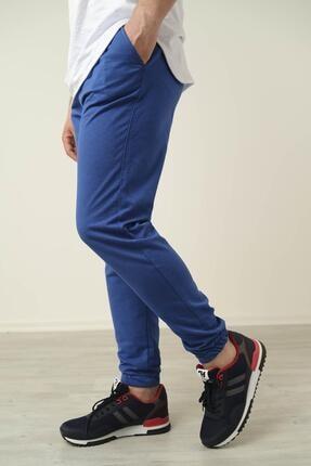 Oksit Peyton Düz Renk Paçası Lastikli Slim Fit Unisex Eşofman Altı