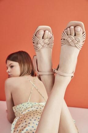 Hotiç Pudra Yaya Kadın Sandalet & Terlik