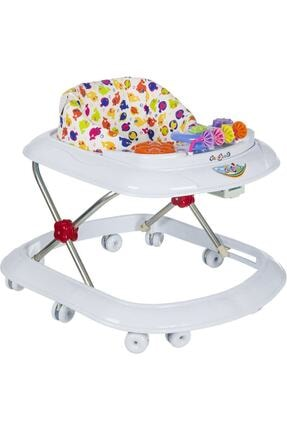 4KİDS Bebek Müzikli Yürüteç Dido Müzikli Bebek Yürüteç Örümcek Beyaz