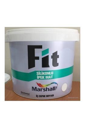 Marshall Fit Silikonlu Ipek Mat Duvar Boyası 10 Kg Kum Beji