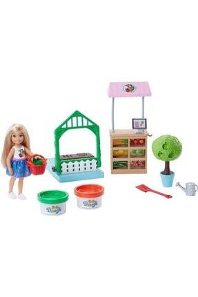 Barbie Chelsea Bahçede Oyun Seti