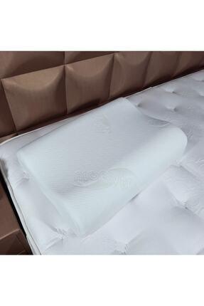 Yoga Ortopedik Visco Yastık Boyun Fıtığı Için Lüks Ortapedik Yastık (Aloe Vera Kumaş)