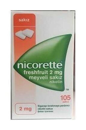 Nicorette Freshfruit 2mg Meyveli 105 Sakız Nikotin