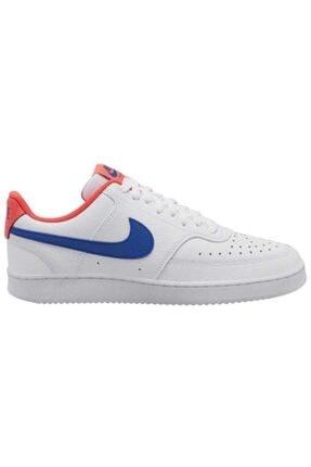 Nike Erkek  Court Vision Low Beyaz Günlük Ayakkabı Cd5463-104