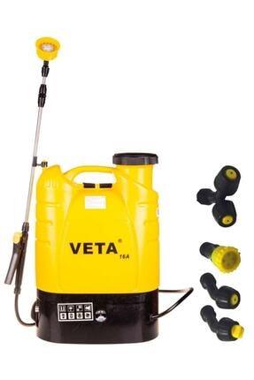 Veta 16a Akülü Şarjlı Basınçlı Ilaçlama Makinesi 16 Litre - 12v - Dezenfekte Pompası