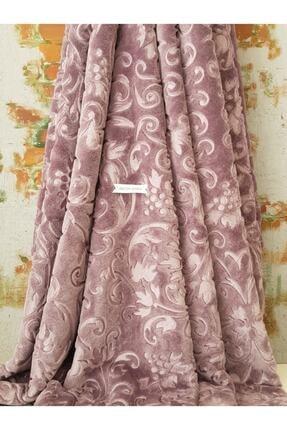 Merinos Elegans Battaniye Tek Kişilik- 160x220 Cm- Kül Moru