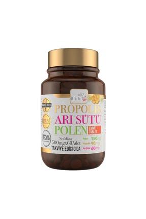 Bee`o Up Propolis Arı Sütü Polen Emme Tablet 500 mg x 60 Adet