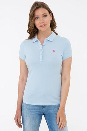 U.S. Polo Assn. Mavı Kadın T-Shirt