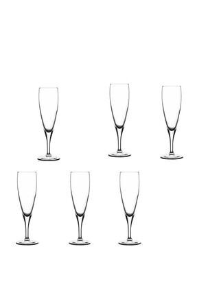 Paşabahçe Lyric Flüt Şampanya Kadehi Şeffaf 6'lı 44896