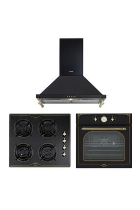 Vestel Siyah Rustik Set (6104 YRS/6002 RS/7688 RS)