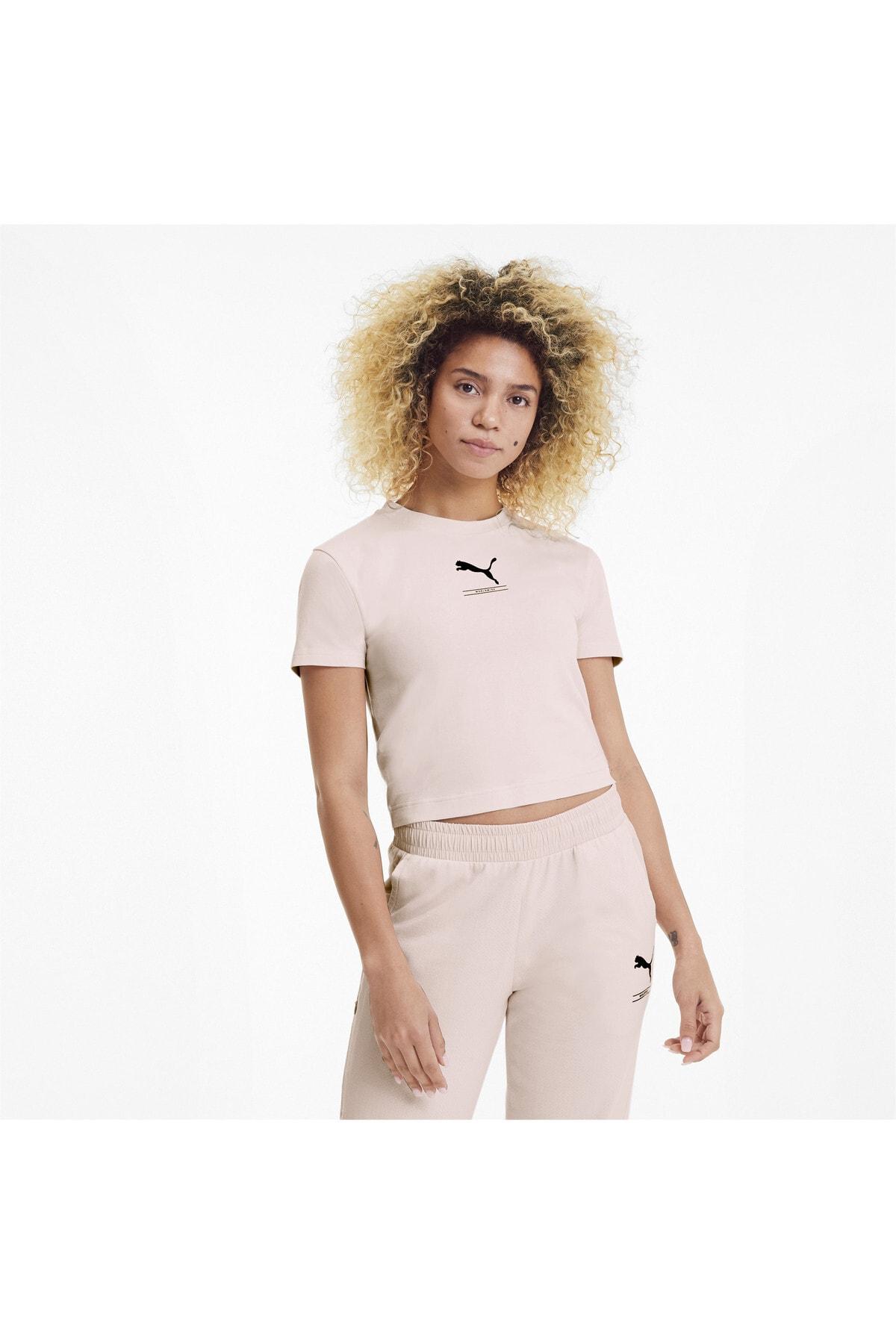 Puma Kadın Spor T-Shirt - NU-TILITY - 58137717
