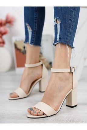 ayakkabıhavuzu Kadın Bej Topuklu Ayakkabı