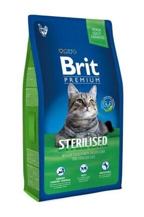 Brit Sterilised Tavuklu Ve Ciğerli Kısırlaştırılmış Kedi Maması 8 kg
