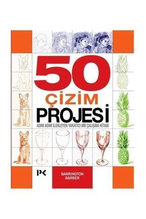 Profil Kitap 50 Çizim Projesi & Adım Adım Ilerleyen Yaratıcı Bir Çalışma Kitabı - Barrington Barber
