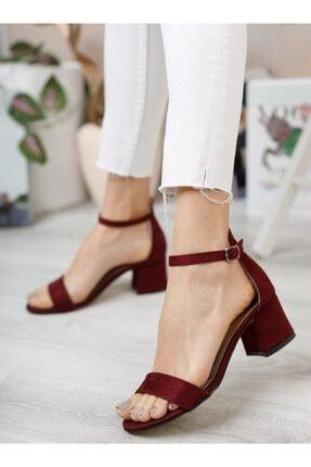 ayakkabıhavuzu Bordo Topuklu Ayakkabı