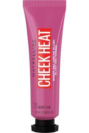 Maybelline New York Cheek Heat Likit Allık 35 Berry Flame 3600531591328