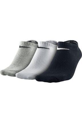 Nike Kadın Training Çorap - 3'lü Lightweight No Show SX4705-901