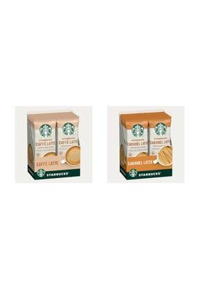 Starbucks Latte Serisi Premium Kahve Karışımı Seti (caffe Latte-caramel Latte)