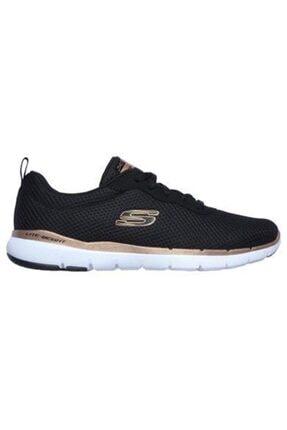 SKECHERS Skechers S13070 Bkrg Flex Appeal 3.0 Koşu Ve Yürüyüş Ayakkabı