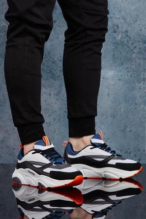 DARK SEER Beyaz Mavi Erkek Sneaker