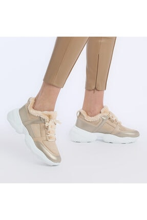 Butigo 20K-607 Bej Kadın Fashion Sneaker 100579200
