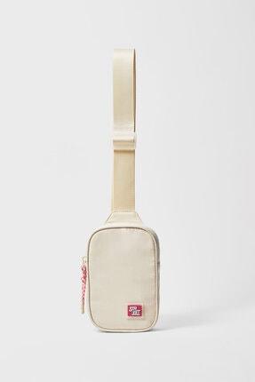 Stradivarius Kumaş Spor Bel Çantası