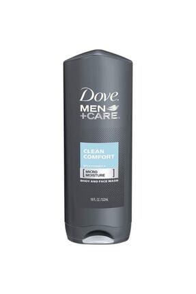 Dove Men +care Clean Comfort Vücut Ve Yüz Yıkama 532ml