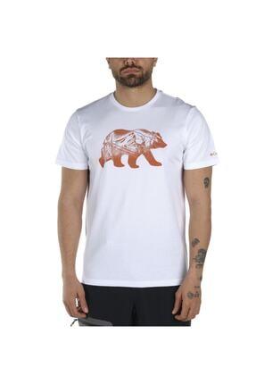 Columbia Bear Walk Bridge Graphic Kısa Kollu Erkek T-shirt