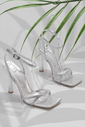 Bambi Lame Kadın Abiye Ayakkabı K05527250836
