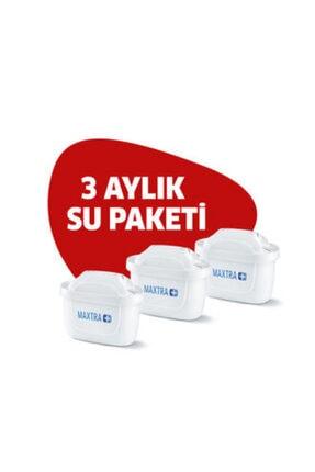 BRITA Maxtra + Plus Üçlü Su Arıtma Sürahi Filtresi-brita Türkiye Garantili