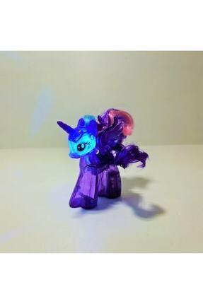 UNICORN Mor Kanatlı Unicorn Boynuzlu Renkli Işıklı Oyuncak