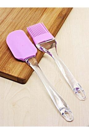 Kitchen Beauty Slikon Yumurta Fırçası Ve Spatula 2'li Set